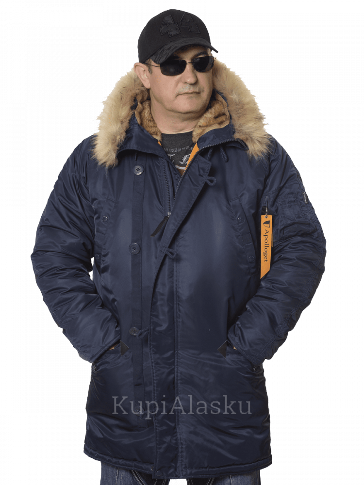 Аляска Apolloget Husky LONG r.blue/ orange