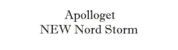 Apolloget NEW Nord Storm