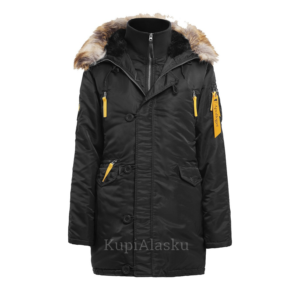 Аляска Apolloget женская Husky wmn Black/Yellow