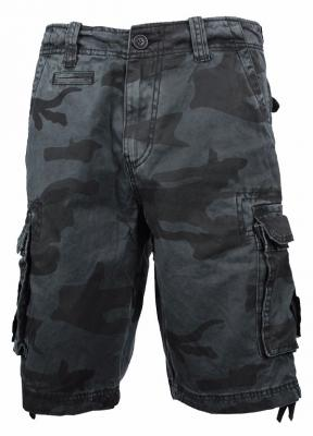 Шорты Aber CATCH WAVE black camo