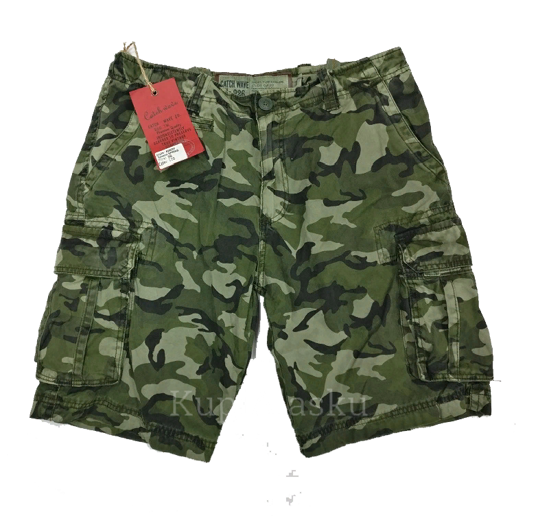 Шорты Aber CATCH WAVE olive camo