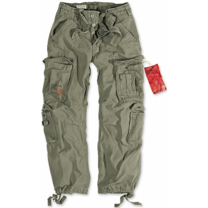 Брюки Airborne Vintage Trousers Olive