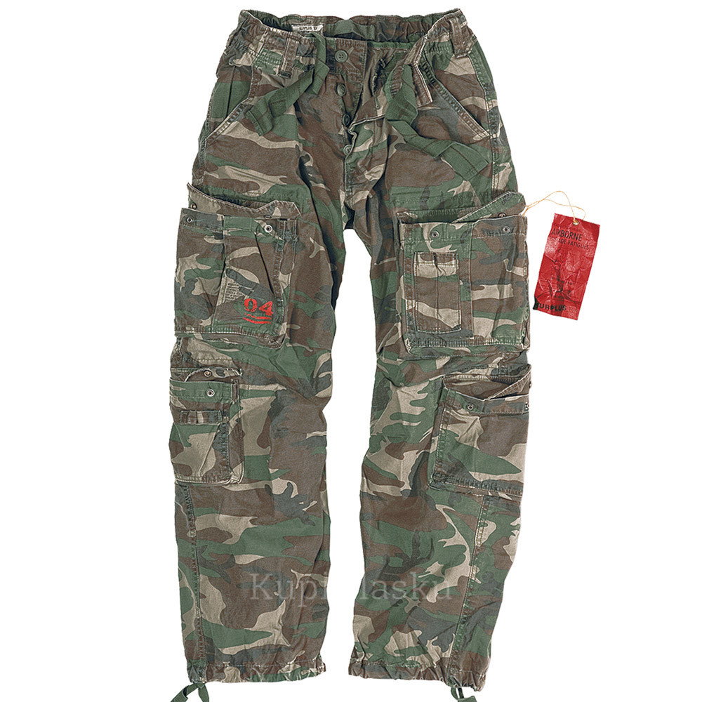 Брюки Airborne Vintage Trousers Woodland