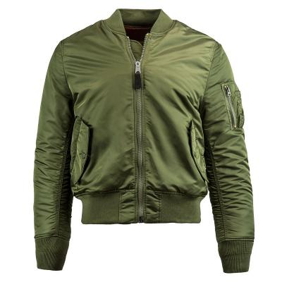 Куртка Alpha Industries утепленная MA-1 Slim Fit, Sage Green