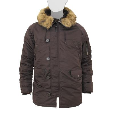 Аляска Slim Fit N-3B Parka Alpha D.Brown