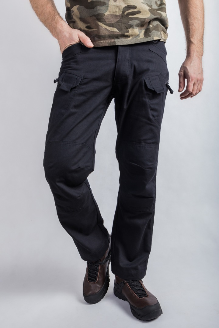 Брюки  UTL Canvas extra long black