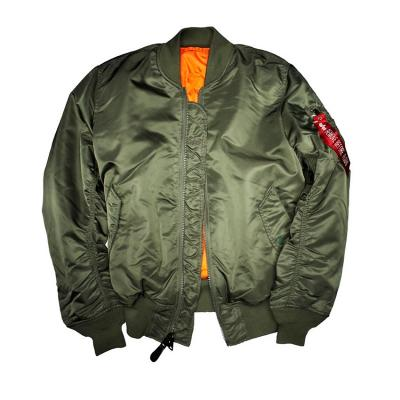 Куртка Alpha Industries MA-1 Alpha, Sage Green, утепленная