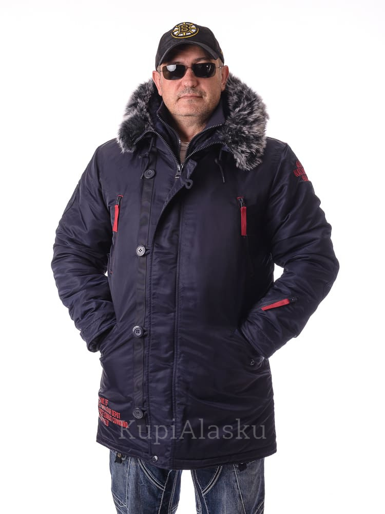 Аляска Apolloget ArktiK Fleece Night sky/red